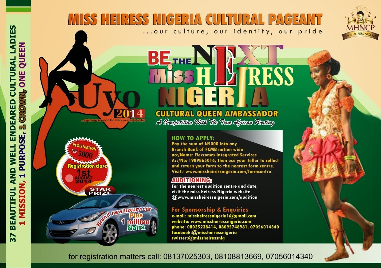 MISS HEIRESS NIGERIA.