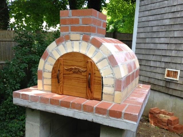 outdoor brick oven diy building outdoor brick pizza oven craft your
