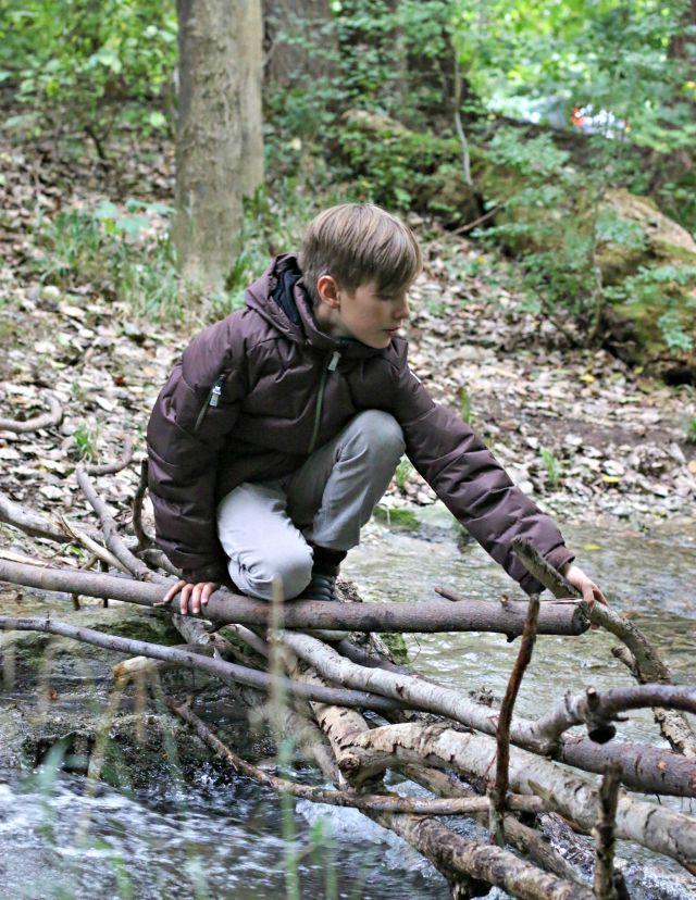 Herbstlandschaft in München - mit Kindern in München unterwegs - Reima Kinderjacken