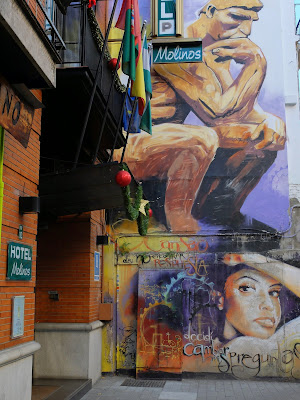 Granada – A Sampling of Street Art and Graffiti