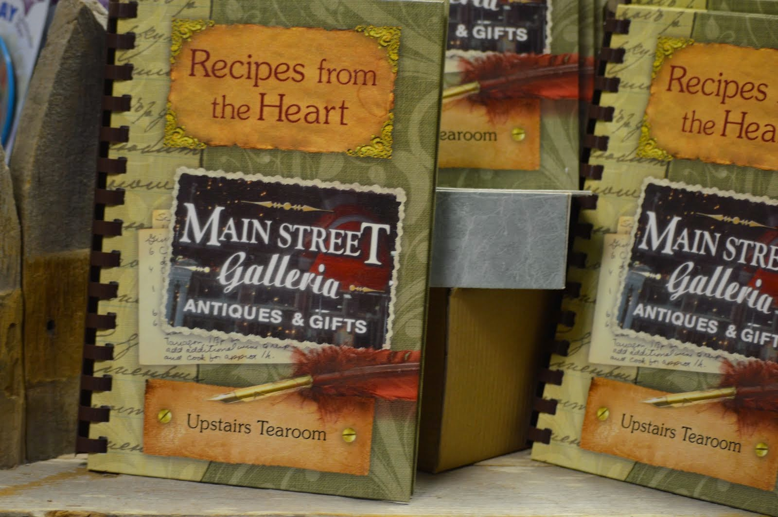 Main Street Galleria Cookbook