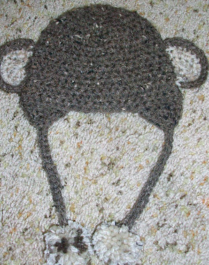 Little Monkey Newborn Hat