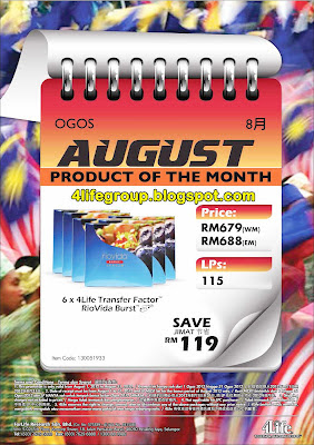 Product Of The Month - August 2012