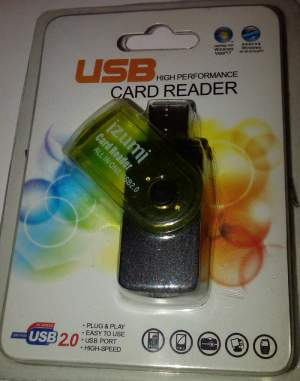 Card Reader All in One USB2.0 Izumi Kuning