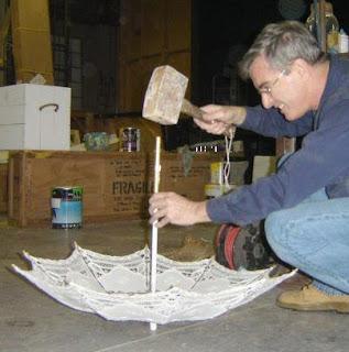 Parasol prop making
