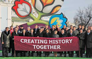 Slogan Resmi Creating History Together With ArenaBetting Piala Eropa 2012