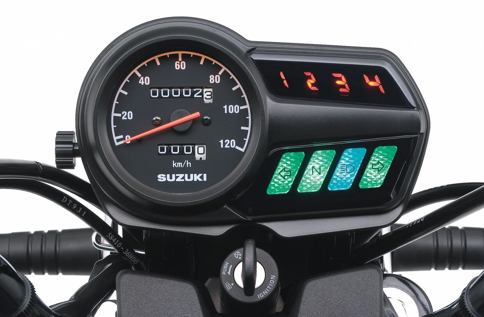 Painel da Suzuki GS 120
