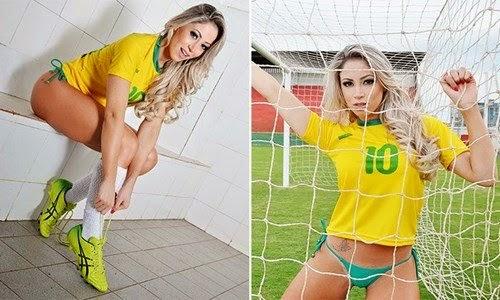 Carol Narizinho posando para fotos