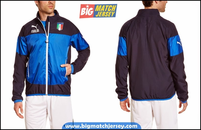 Jaket Italia Merah World Cup 2014 Terbaru Biru Hitam