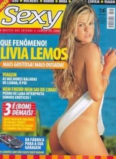 Lívia Lemos nua