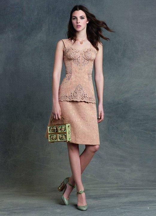 Crochet Top, Skirt , Necklace, Heels, Hand Bag | women Fashion