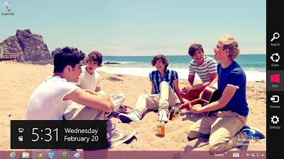 One Direction Theme Windows 7 Theme, 2013 One Direction Windows 7 And Windows 8 Theme, One Direction Theme For Windows 7 And Windows 8, One Direction Wallpaper 2013