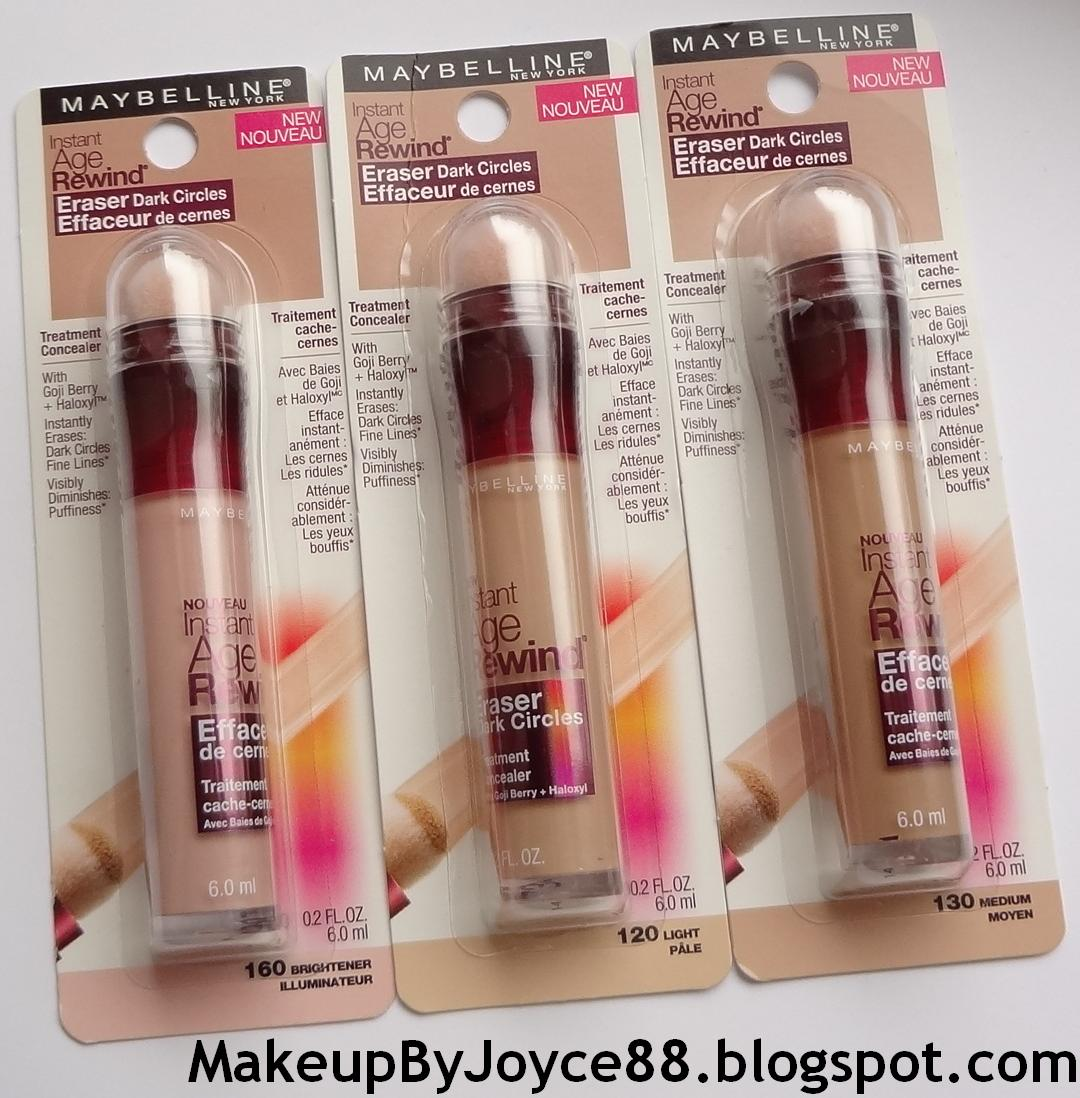 ❤ MakeupByJoyce ❤** !: Review + Swatches: Maybelline Instant Age ...