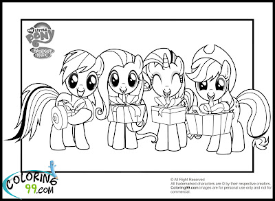 My Little Pony Magic Coloring Pages