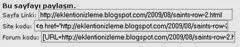 Blogger Sayfayı Paylaş Eklentisi