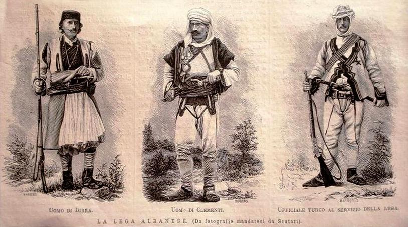 La Lega Albanese (Gegëria)
