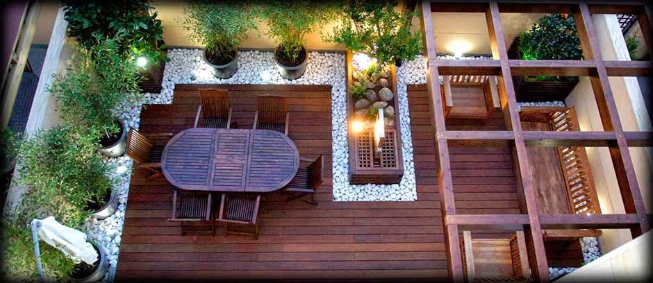 Proyectarq el paisajismo una nueva tendencia en el dise o - Fuentes para terrazas ...