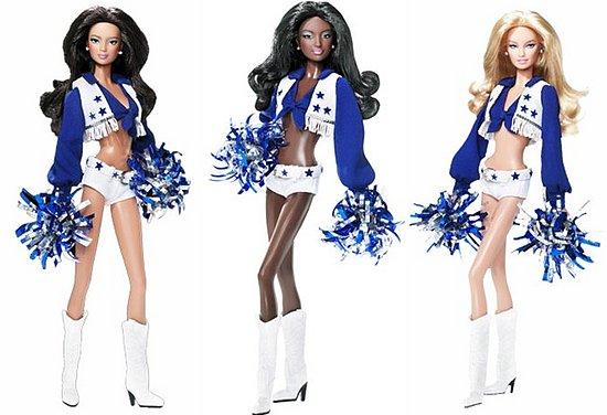 Cheerleader barbie