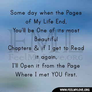 Some day when the Pages of My Life End