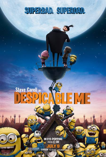 Mi Villano Favorito [Despicable Me] DVDRip Español Latino