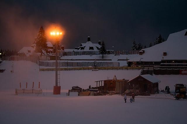 Reflektori i večernja šetnja