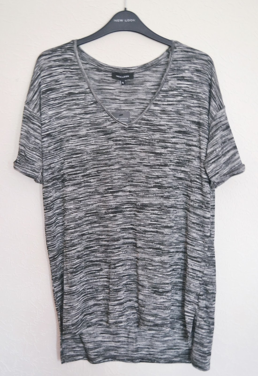 new look grey t shirt