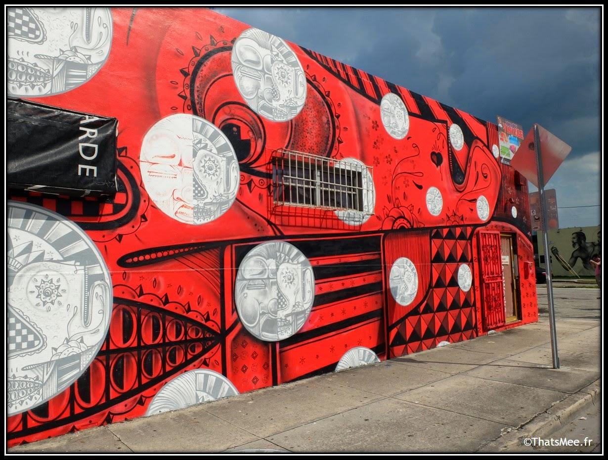 Miami Art Basel 2013, Wynwood Art District street art
