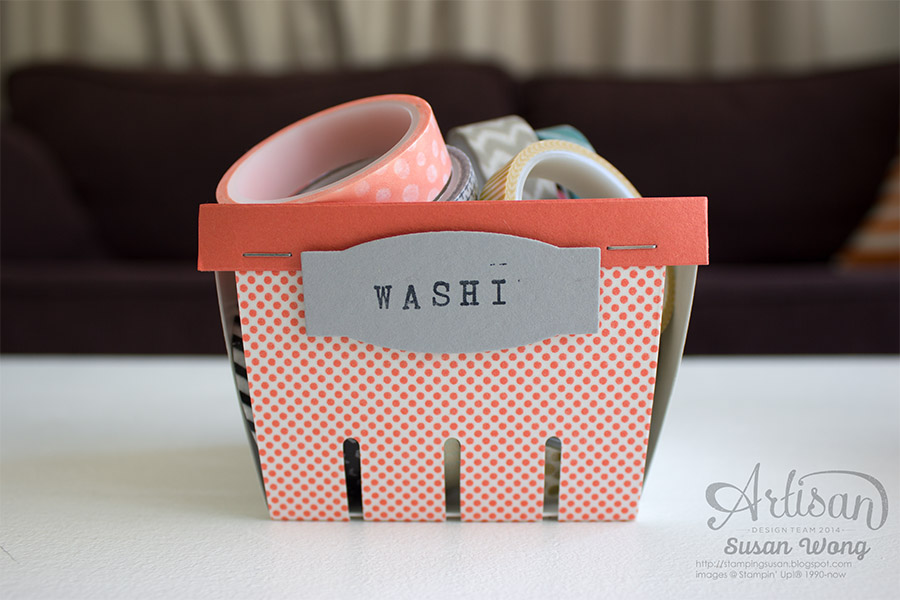 Birthday Bash Berry Basket Storage ~ Susan Wong
