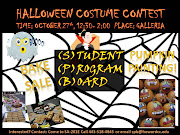 . allow students and faculty members to show off their HALLOWEEN SPIRIT!