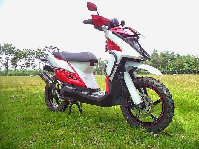 Modif Modifikasi Motor Yamaha X Ride Touring
