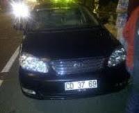 plat mobil kedutaan rusia