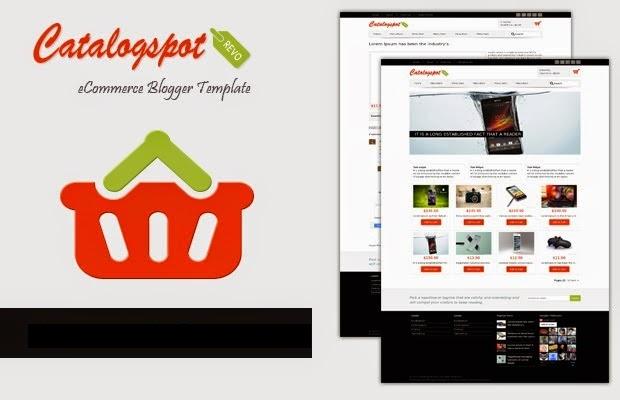 Catalogspot - Template Blogspot bán hàng tích hợp thanh toán