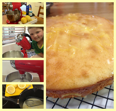 Kitchenware Direct Sunbeam Mixmaster Easy Low Calorie Lemon Cake
