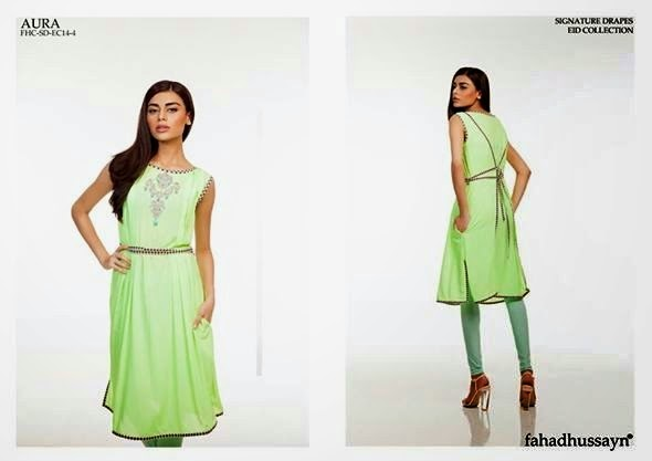 Fahad Hussayn latest Eid collection