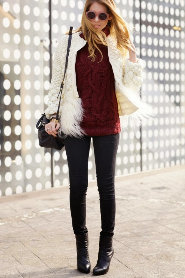 Winter Street Style The Fashion Mood Book