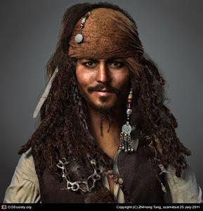 Jack Sparrow, Capitão