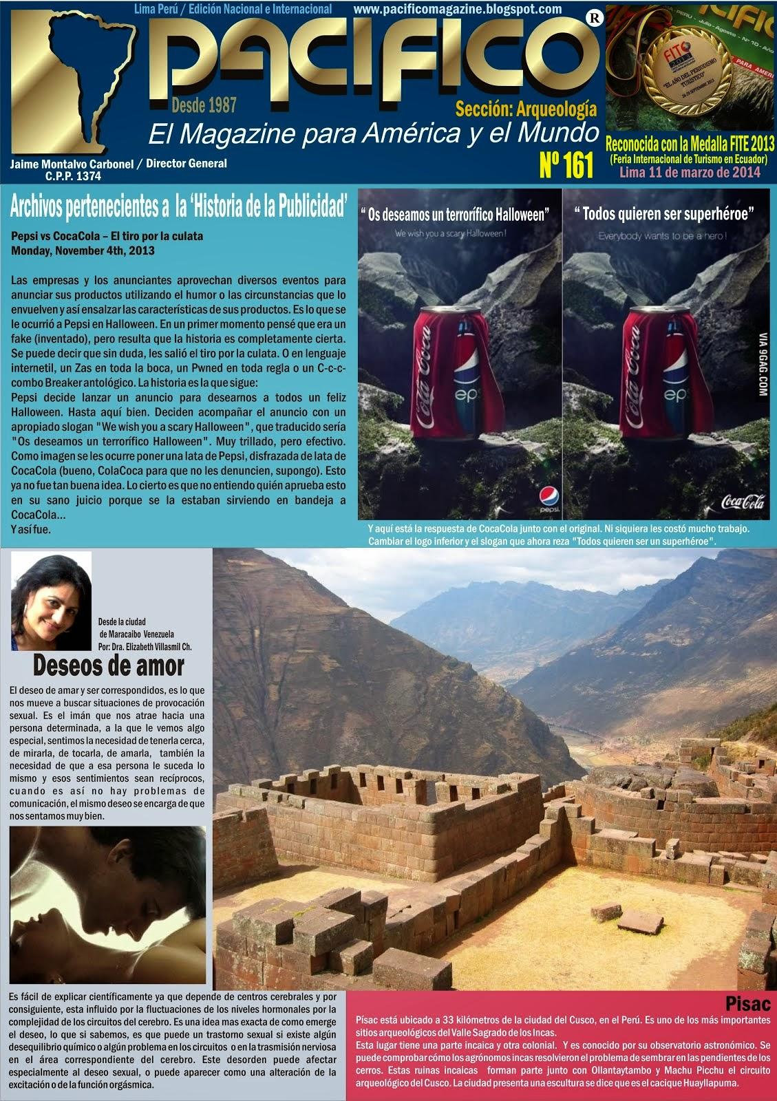 Revista Pacífico Nº 161 Arqueología