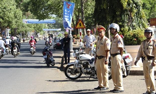 Gia Lai: Làm rõ thông tin cảnh sát kinh tế xin tiền tài xế