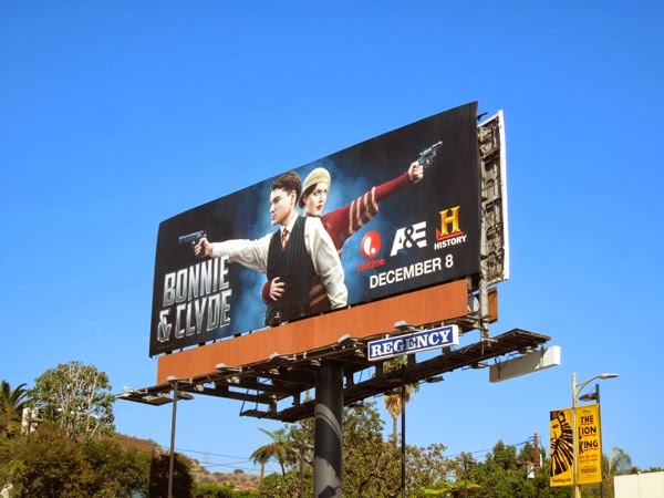 Bonnie and Clyde TV remake billboard