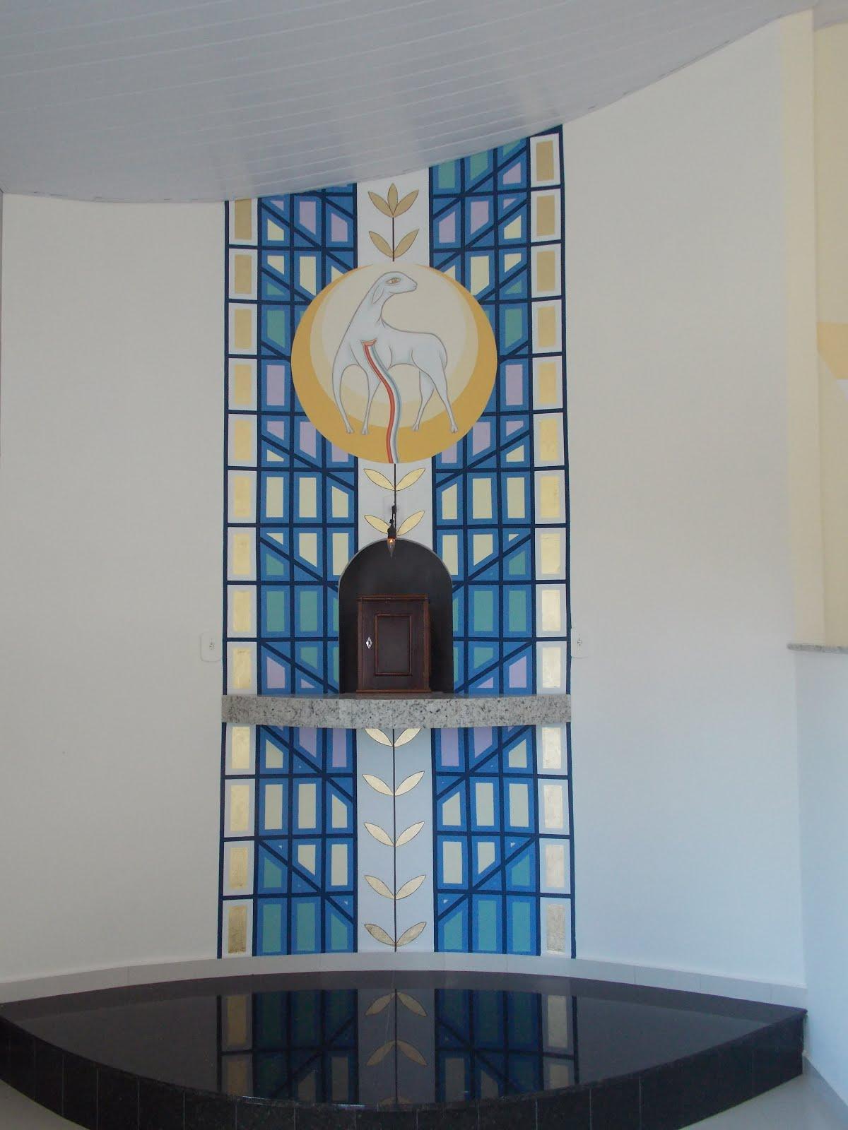 Detalhe da capela do Santíssimo