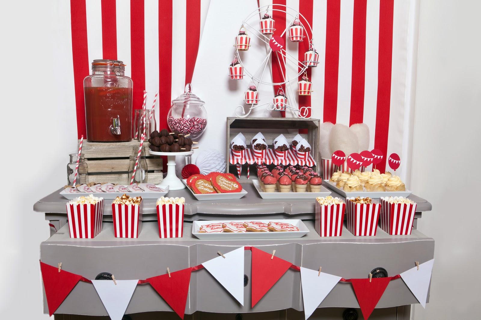 Die rezepte f r meinen zirkus zirkus sweet table - Pinterest 18 geburtstag ...
