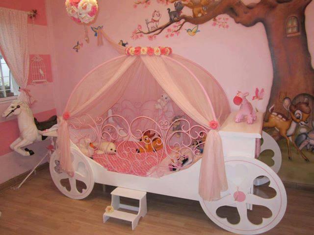 Studio domus case case da sogno e tante idee arredo per piccole principesse - Cameretta da principessa ...