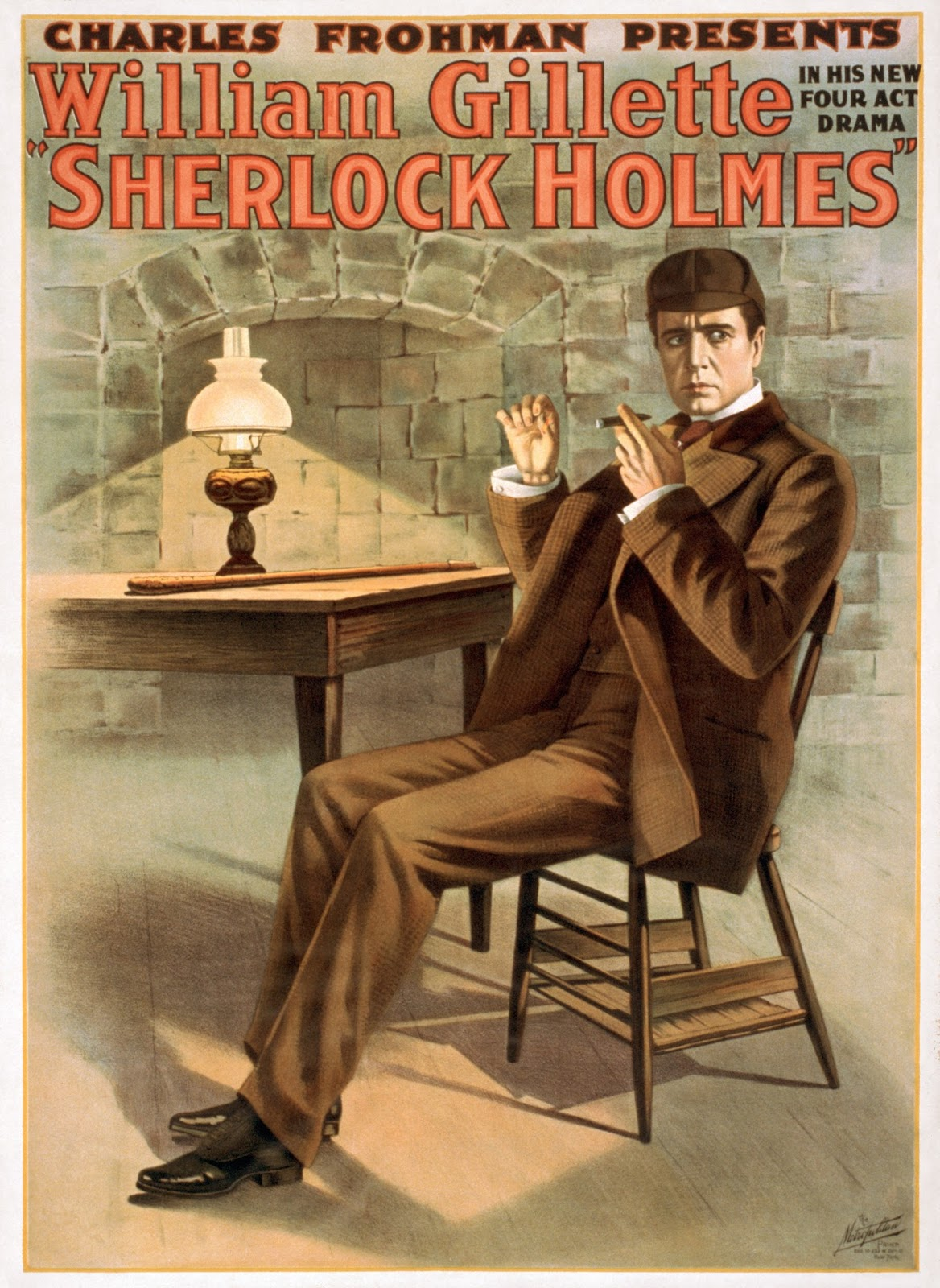Sherlock Holmes (1916 film) Antti Alanen Film Diary Sherlock Holmes 1916 William Gillette