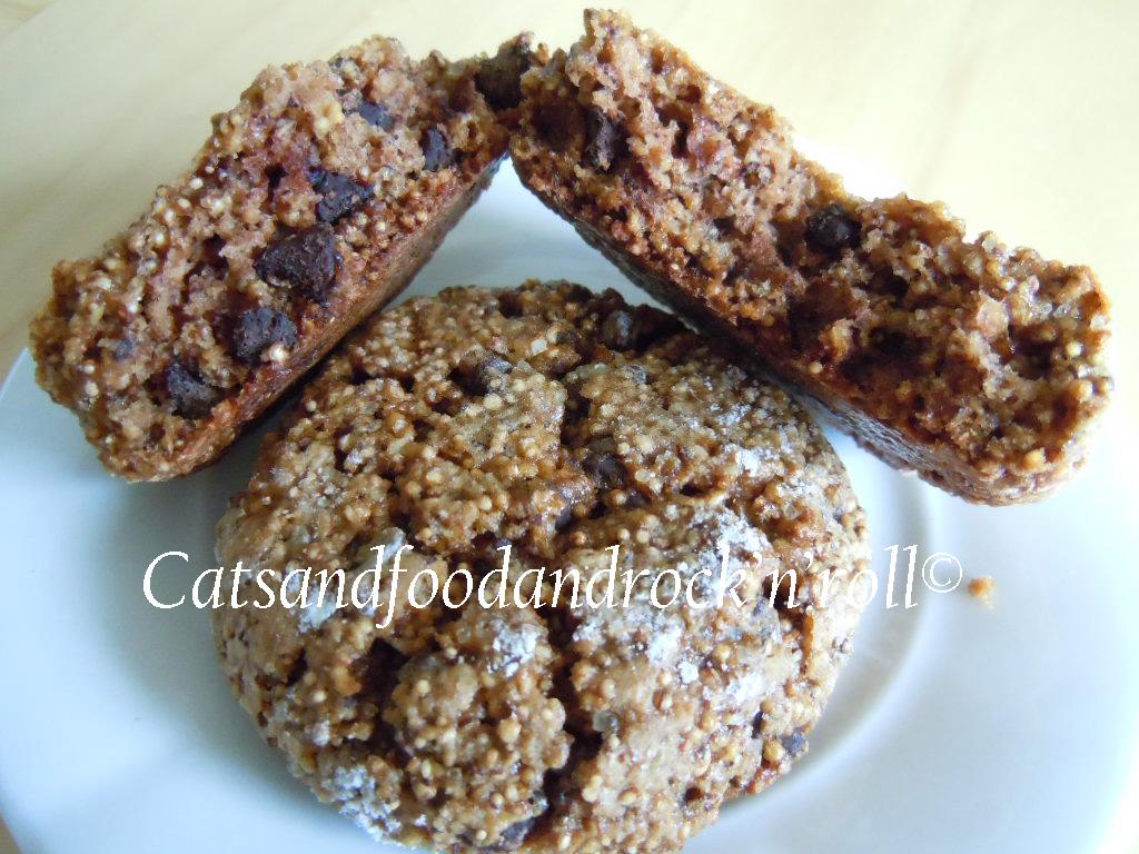 biscotti all'amaranto soffiato