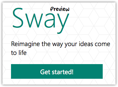 Sway Get started!