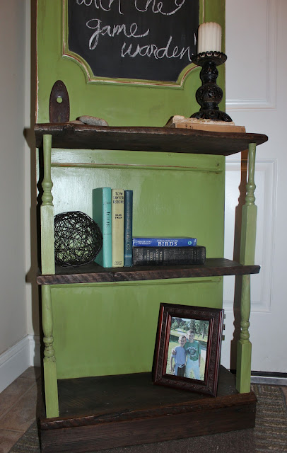 old door repurposed hall tree http://bec4-beyondthepicketfence.blogspot.com/2011/08/door-no-more.html