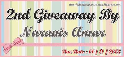 http://dunianuranisamar.blogspot.com/2013/10/2nd-giveaway-by-nuranis-amar.html