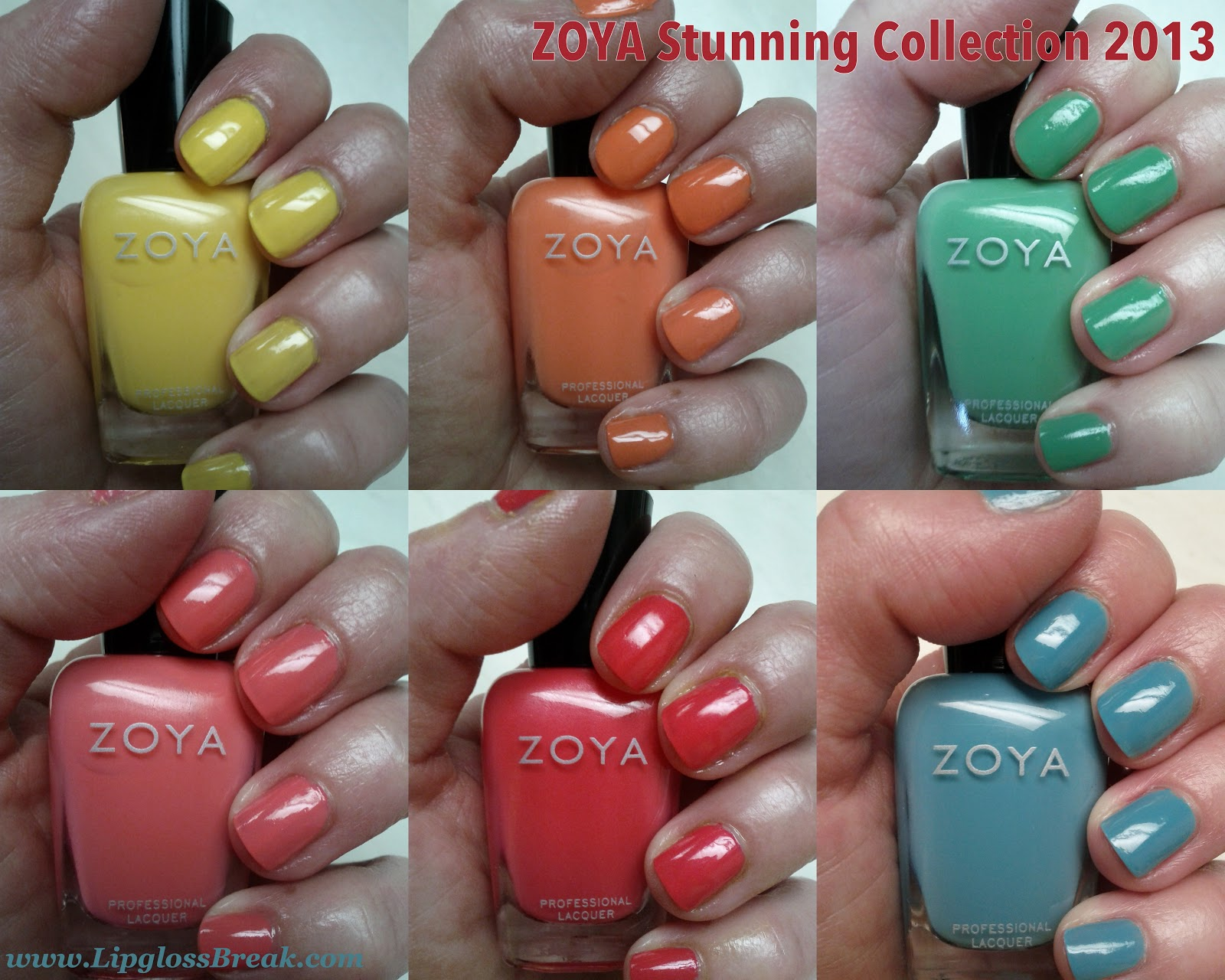 Zoya Nail Polish Stunning Collection
