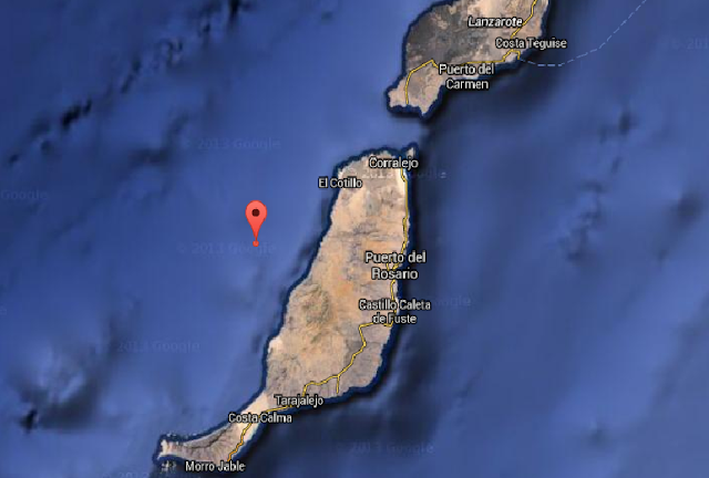 terremoto sentido  en Fuerteventura y el hierro 19 diciembre