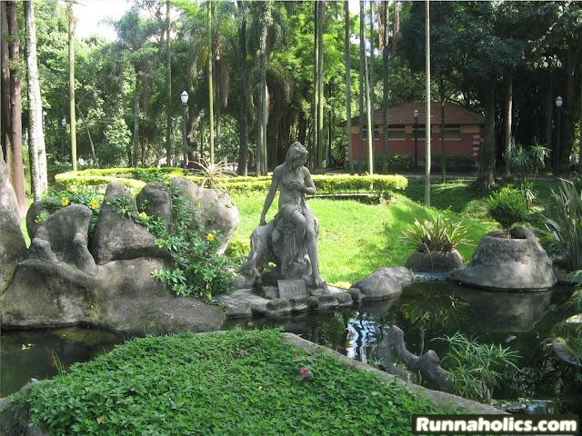 Deusa Diana no Parque da Luz